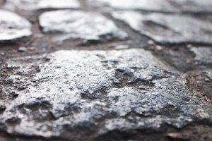 Cobblestone Floor Background