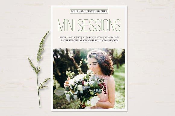 Mini Session Template