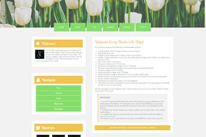 Tulip - Tumblr Theme