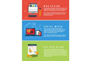 Web Design, Pay Per Click, Social