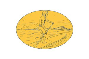 Dude Stand Up Paddle Board