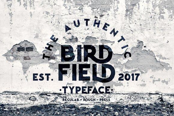 Birdfield Typeface
