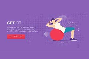 Get fit web banner