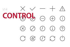 80 Control UI icons