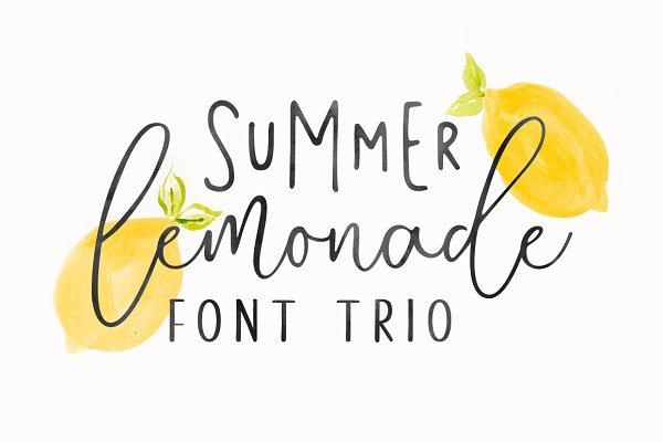 Summer Lemonade + Extras