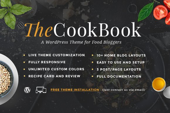 TheCookBook - WP for Food Bloggers