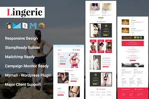 Lingerie Responsive Email Template