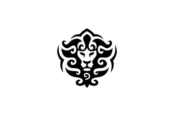 lion logo template logo templates creative market