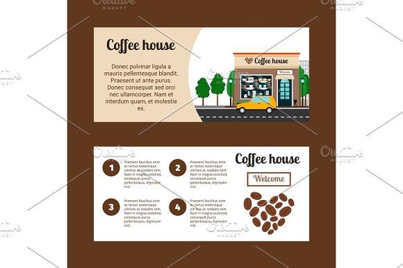 Coffee House Horizontal Flyers