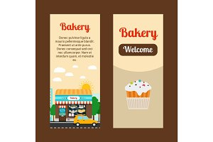 Bakery house flyers
