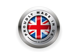 Proudly Made in UK badge
