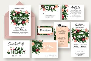 Flower Burst Wedding Suite