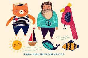 Funny Fishermens