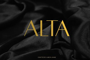 Alta Typeface (3 Weights) - SAVE 20%