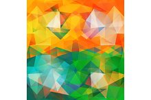 Triangle Background.
