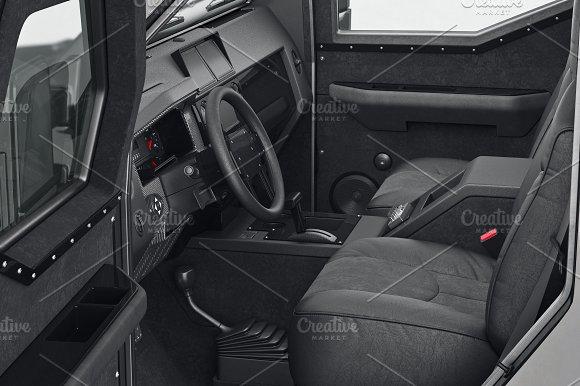 Car Interior Close View