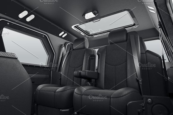 Car Interior Leather Seat