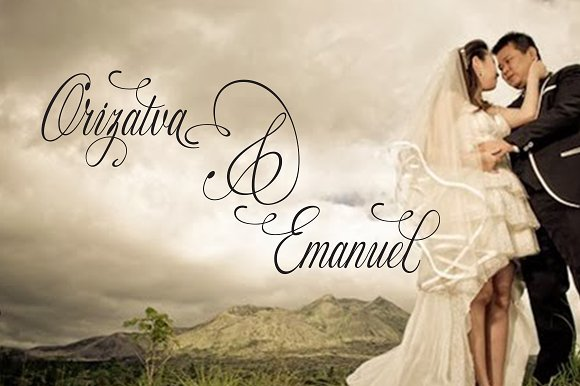 Fameliya in Script Fonts - product preview 2