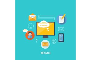 Concept of Message and Email