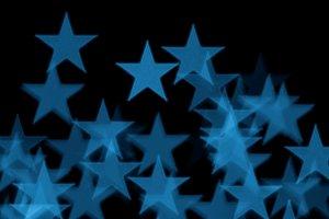 Blue Stars Blur