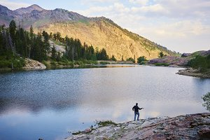 Lake Blanche fishing