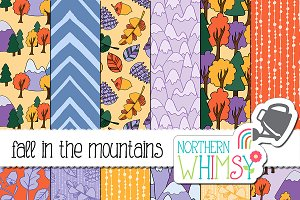 Fall in th Mountains Patterns