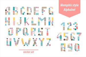 Memphis style font SALE!!! -33%