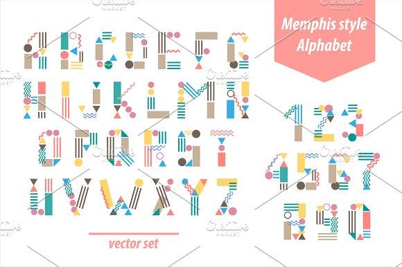Memphis Style Font