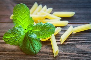 Mint and pasta