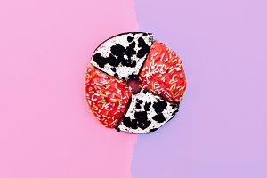 donut.  Creative minimal