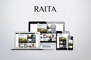 Raita | Minimal Theme for Writers