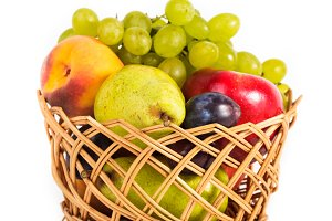 Basket of fruits