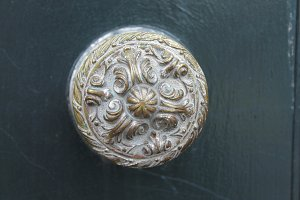 Ancient Bronze Doorknob
