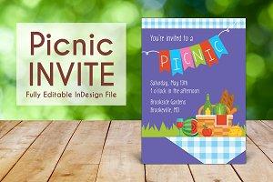 Spring Outdoor Picnic Invite