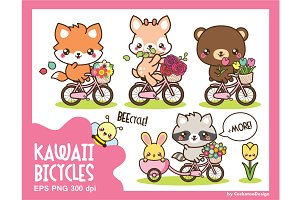 Kawaii bicycle ride