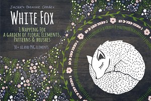 White Fox: Hand Drawn Collection