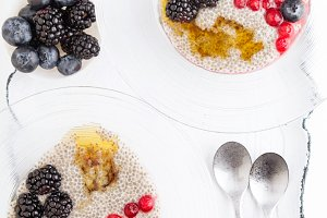 Detox and healthy superfoods