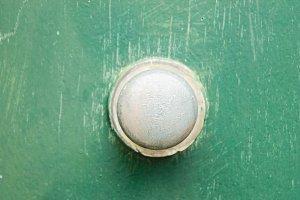 Vintage Doorknob in Green