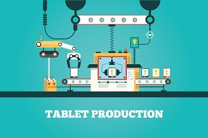 manufacturing tablet pc
