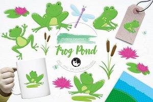 Frog Pond illustration pack