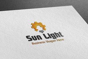 Sun Light Style Logo