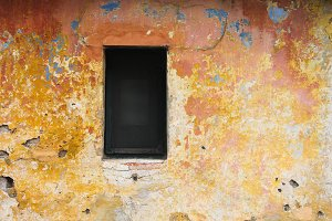 Rustic Window Detail