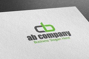 AB Company Style Logo