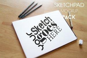 Sketchpad Mockup Pack
