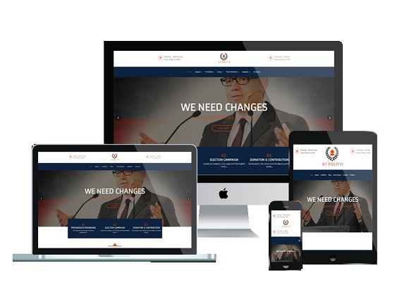 AT Politix-Politics Joomla Template