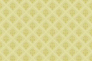 Green wallpaper pattern
