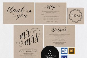 Wedding Invitation Template Wpc4