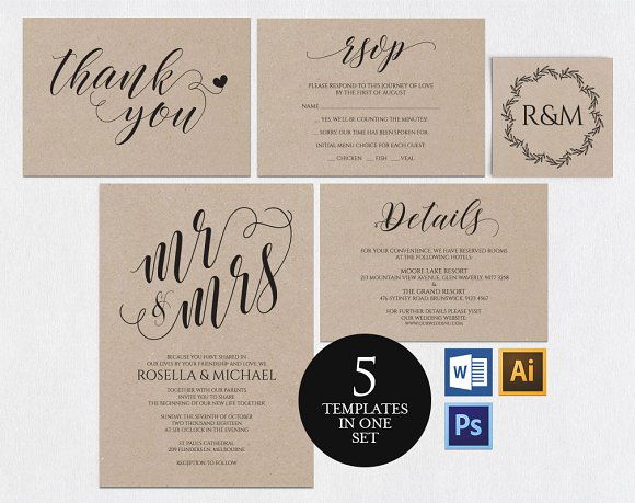 wedding invitation template wpc4 invitation templates creative