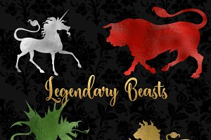 Legendary Beasts Clipart