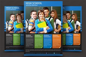 High School Flyer Templates